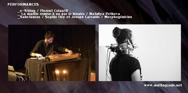 Performances MeltingCode - Les Morphogénistes