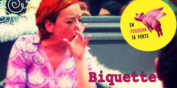 """En Poussan ta porte #2 : """"Biquette"""" de la Cie 2L au Quintal - Compagnie Surprise"""