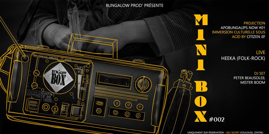 Mini Box #002 - Bungalow Prod