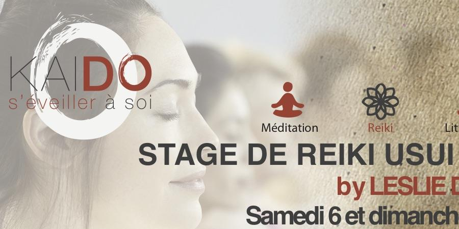 Stage REIKI USUI 1er degré - association KAI DO