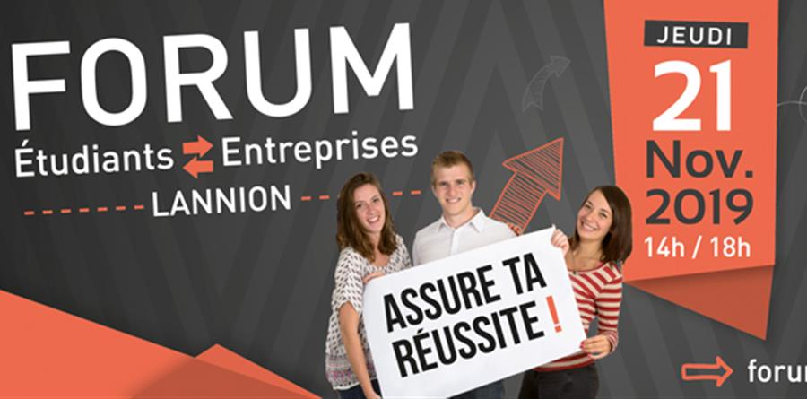 Forum Etudiants Entreprises 2019 - Technopole ANTICIPA
