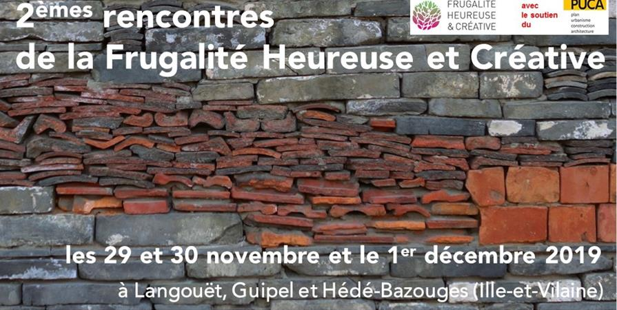 DEUXIEMES RENCONTRES DE LA FRUGALITE HEUREUSE ET CREATIVE  - 2 - MANIFESTE POUR UNE FRUGALITE HEUREUSE ET CREATIVE