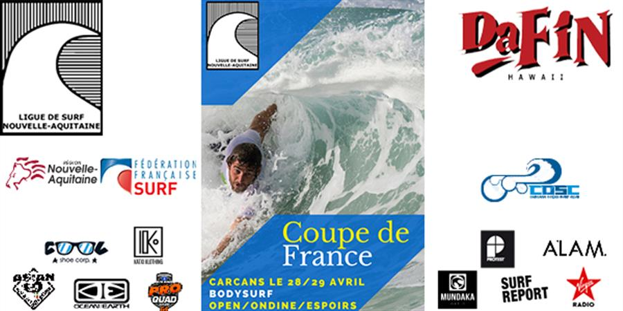 COUPE DE FRANCE Bodysurf open/ondine/espoir - Ligue Nouvelle Aquitaine de Surf