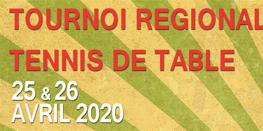 Tournoi Tennis de Table Régional - Asptt Cholet / EAT la Tessoualle - ASPTT CHOLET