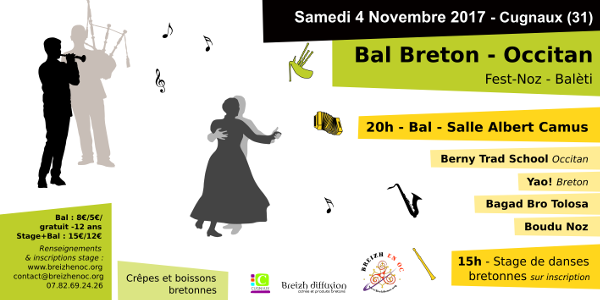 Bal Breton - Occitan / Fest-noz Balèti  - Breizh en Oc