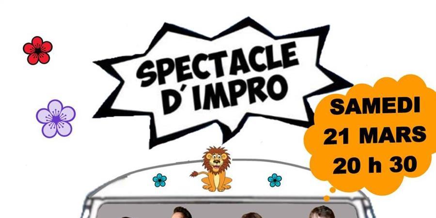 """SPECTACLE D'IMPRO """"LES LIONS DANS TON SALON"""" - ADEELIA"""
