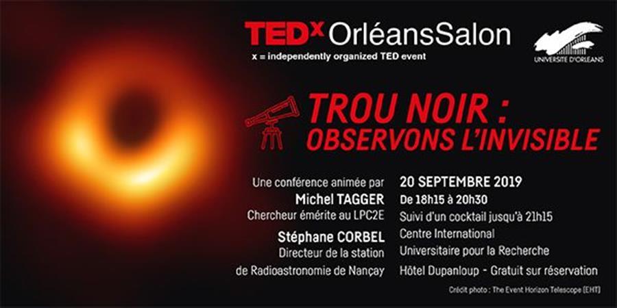 TEDxOrléansSalon 2019 #2 - VIP - Loire & Idées