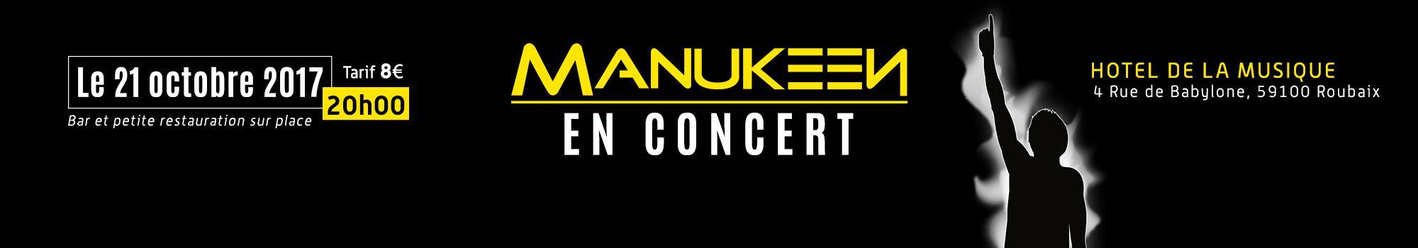 Manukeen en Concert Electrique - W2A Productions