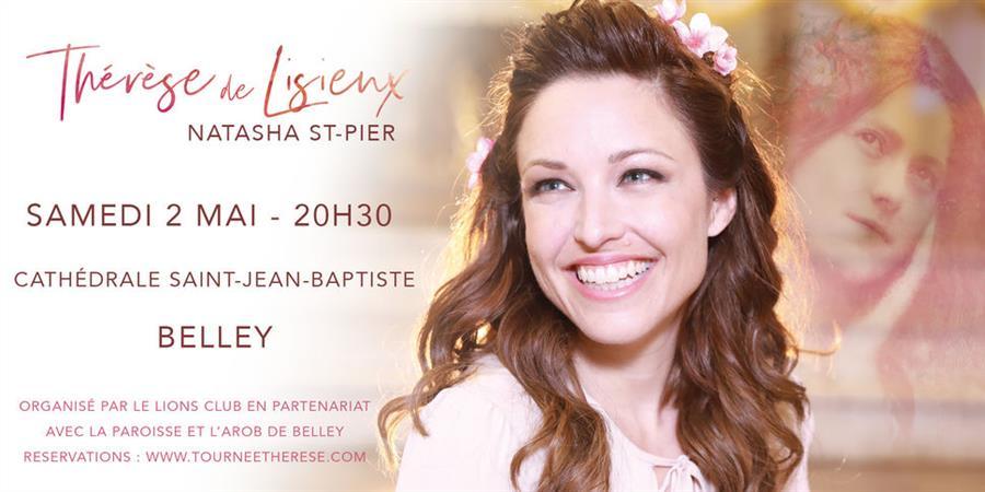 NATASHA ST-PIER CHANTE THERESE DE  LISIEUX - Harmonie de Belley