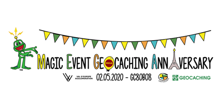 Boutique en ligne du Magic Event Geocaching Anniversary - Paris 2020 - Association des Géofranciliens