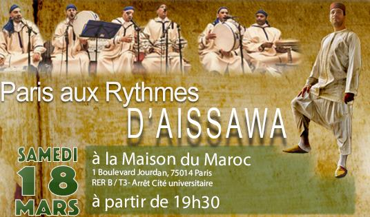 Paris aux rythmes d'Aissawa - Association SWOW