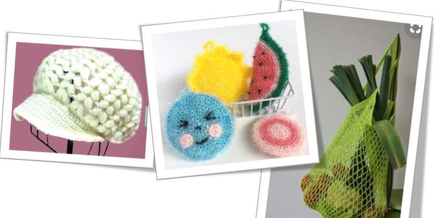 Atelier Crochet (11/02 au 08/03/19) - Oxygène PSA - Ateliers Créatifs