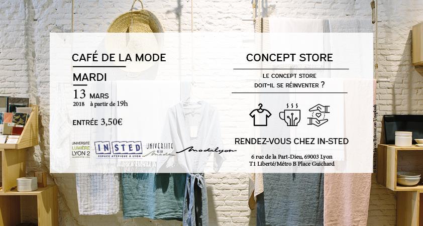 Café de la mode - Concept store - Modalyon - Association pour le Développement de l'Université de la Mode
