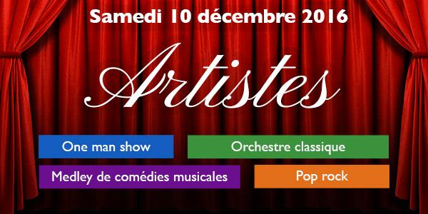 Artistes - L'Or Bleu productions