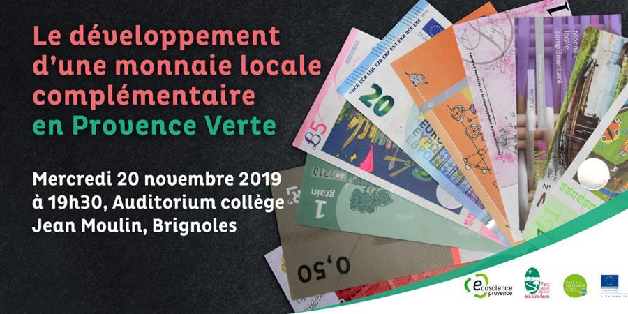 Soirée Spectacle et échange - Monnaie Locale Complémentaire - Ecoscience Provence