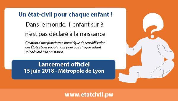 Lancement de la plateforme www.etatcivil.pw - Regards de Femmes