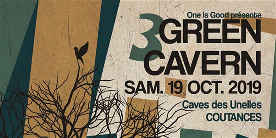 GREEN CAVERN 3 (ProleteR, Ours Samplus, Bisou, Yoshi, Asagaya...) - One is good Records