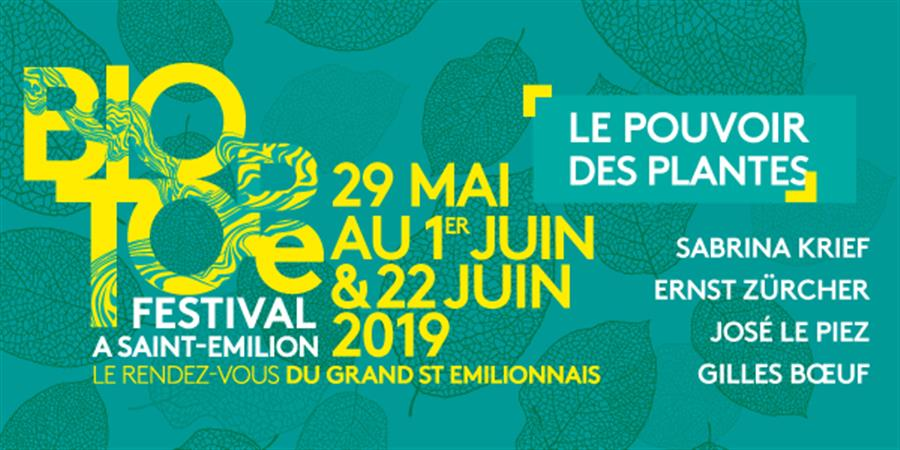 Balade Découverte des Plantes Sauvages et de la Biodiversité - Biotope Festival