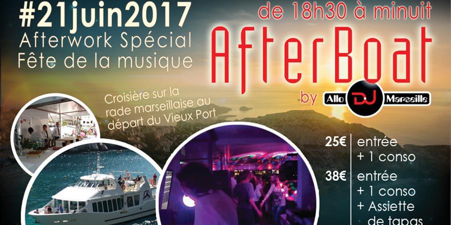 AfterBoat - fête de la musique - AlloDJMarseille