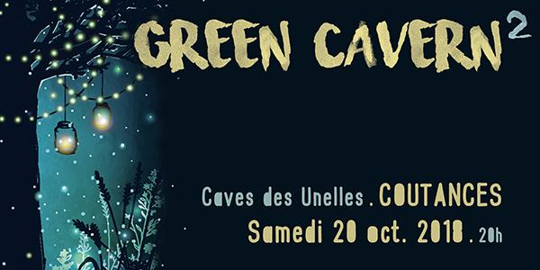 GREEN CAVERN 2 (Guts djset, Senbeï, Hugo kant...) - One is good Records