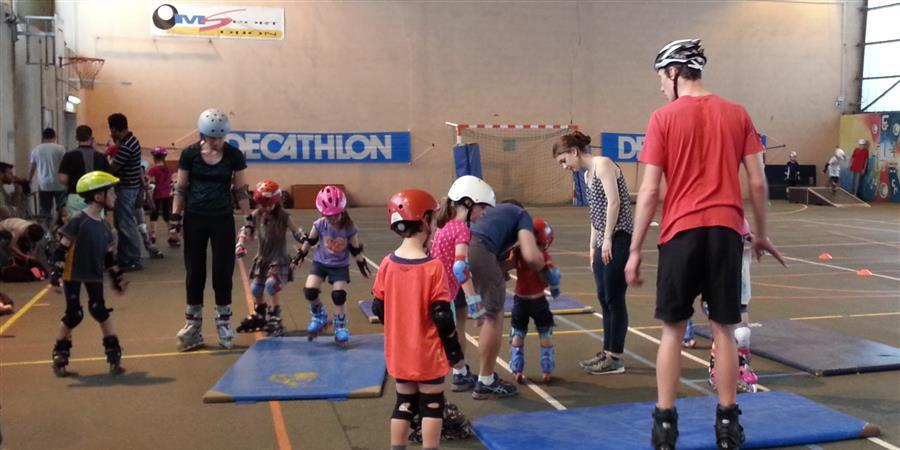 Stage roller pâques 2 - 16 Avril - 20 Avril 2018 - AM Sports
