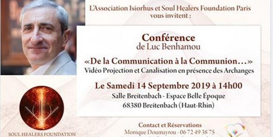 Conférence LUC BENHAMOU - Association ISIORHUS