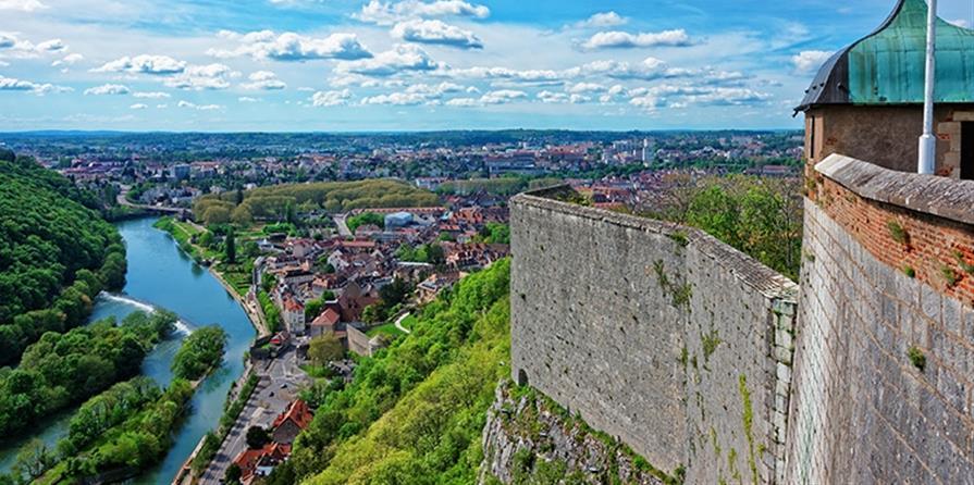Citadelle de Besançon - Départ Belfort - Crij Bourgogne-Franche-Comté
