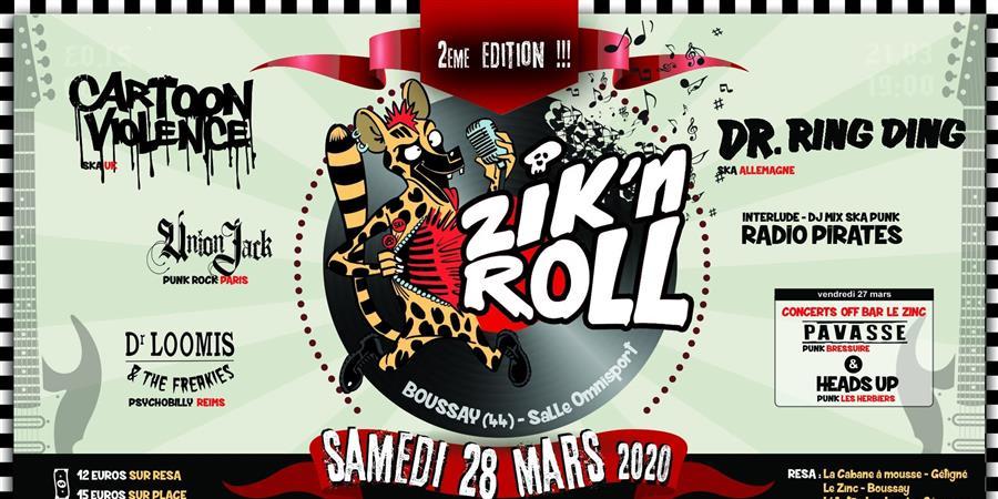Zik'N Roll : 2ème édition - Zik'N Roll