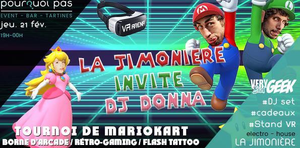 La Jimonière invite Dj Donna @ Pourquoi pas ? Café Culturel - La Jimonière