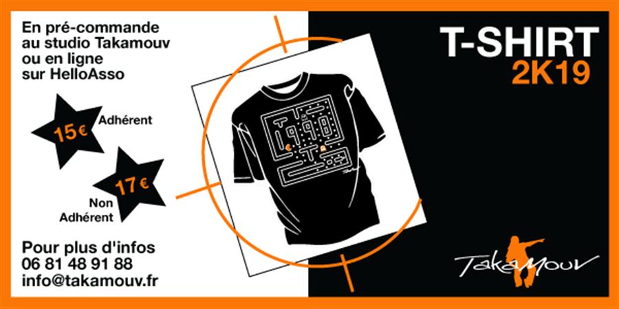 commande t-shirt  - Takamouv