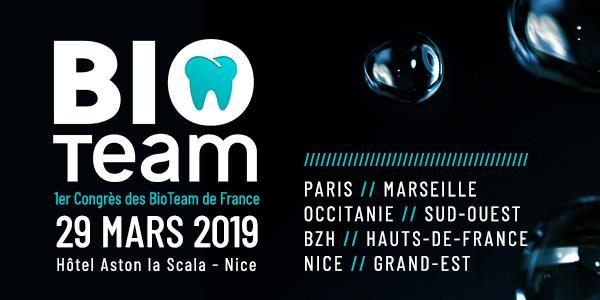 BIOTEAM - 1er Congrès des BioTeam de France - BIOTEAM NICE