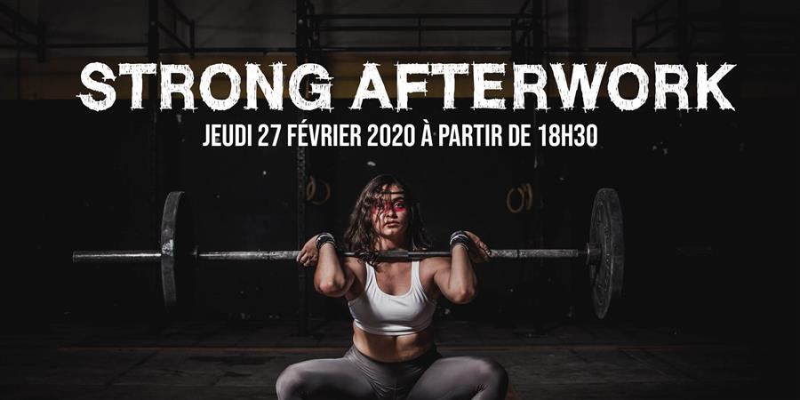 STRONG AFTERWORK - LEVALLOIS SPORTING CLUB