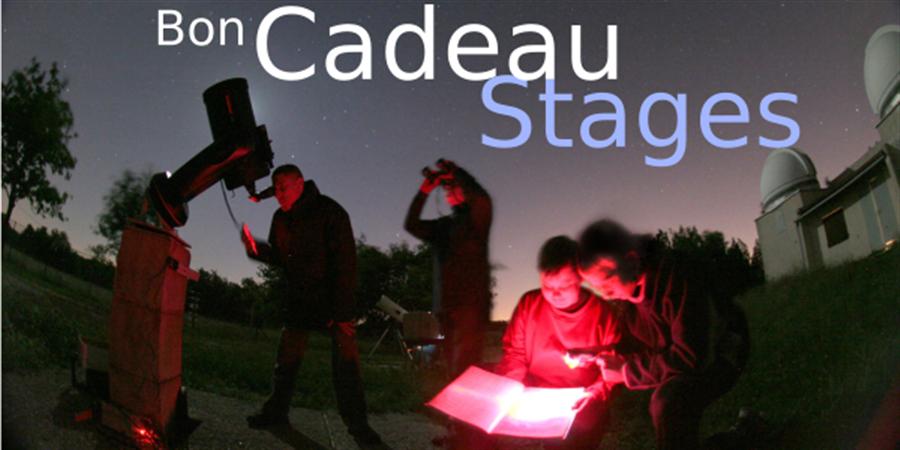 Bon cadeau Stage étoile/Petite Ourse - Club d'Astronomie de Lyon Ampère