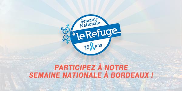BORDEAUX - Événement(s) Semaine Nationale 2018 - Le Refuge