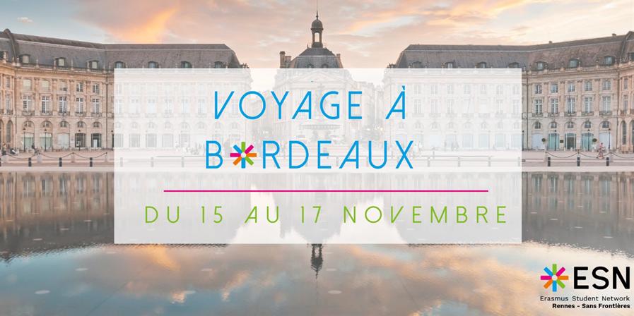 Bordeaux 2019 - ESN Rennes