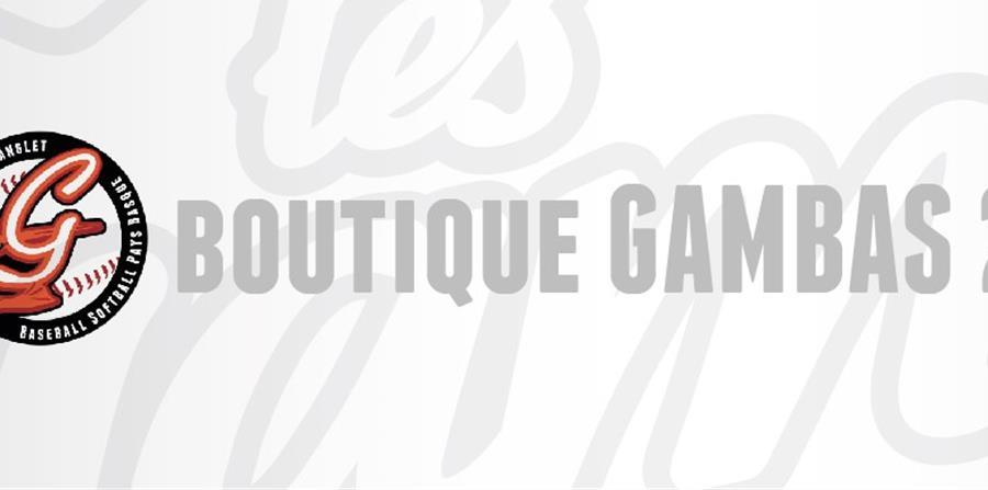 Boutique 2020 - Gambas Baseball-Softball