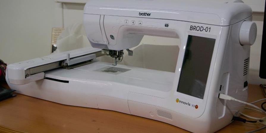 Initiation brodeuse numérique (niveau 1) - La Fabrique d'Usages Numériques