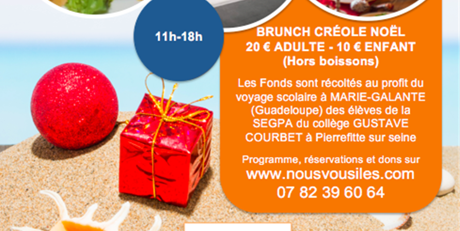 BRUNCH SOLIDAIRE OUTREMER édition Noel - OUTREMER RACINES