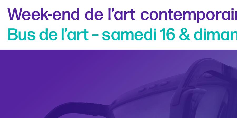 Parcours bus de l'art 1 - Samedi 16 mars 2019. Départ de Mulhouse et Bâle / WEAC - Versant Est