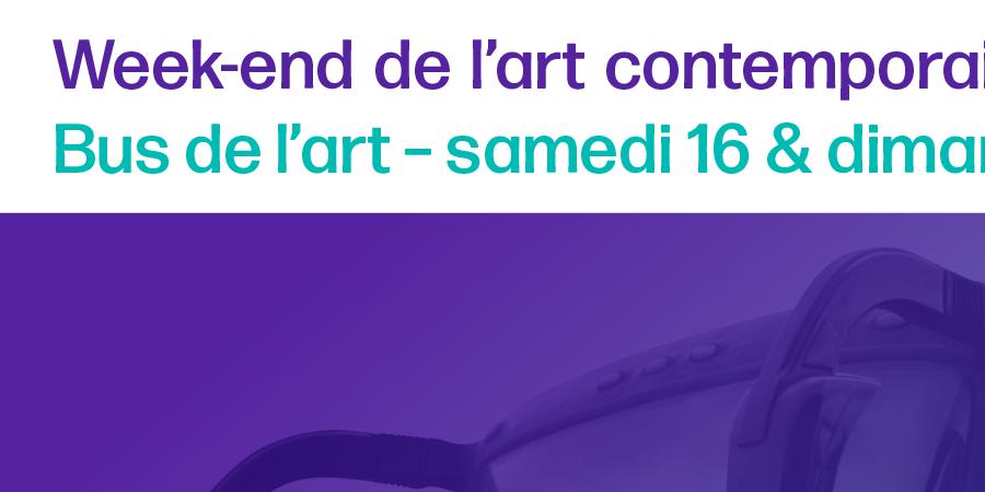 Parcours bus de l'art 4 - Dimanche 17 mars 2019. Départ de Mulhouse / WEAC - Versant Est
