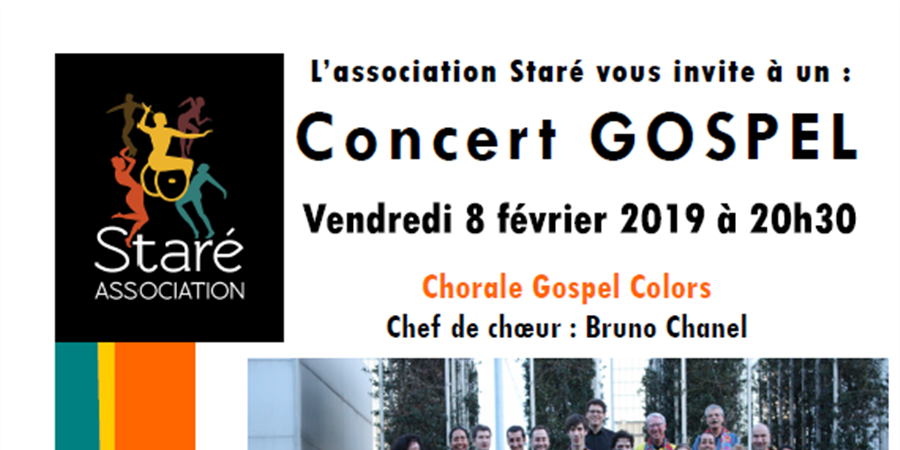 CONCERT GOSPEL - Staré