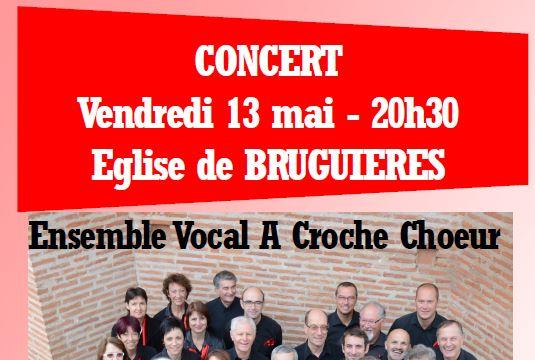 Concert A Croche Choeur - Ensemble Vocal A Croche Choeur
