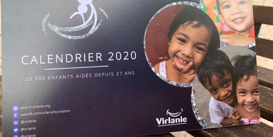 Le calendrier VIRLANIE 2020 - Virlanie France