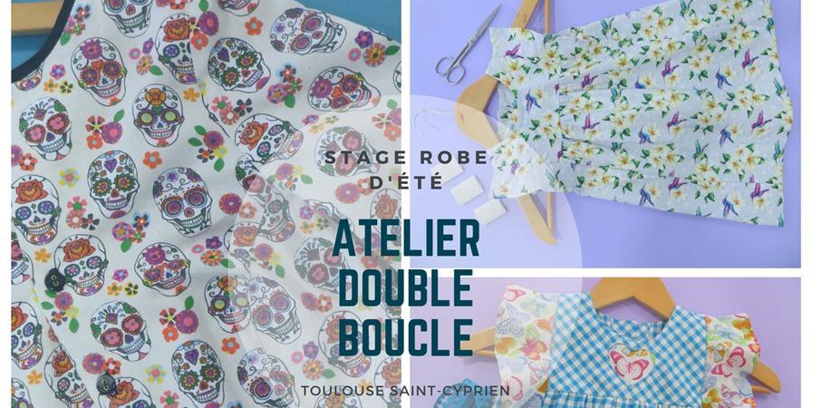 Stage réalisation d'une robe d'été - Atelier Double Boucle