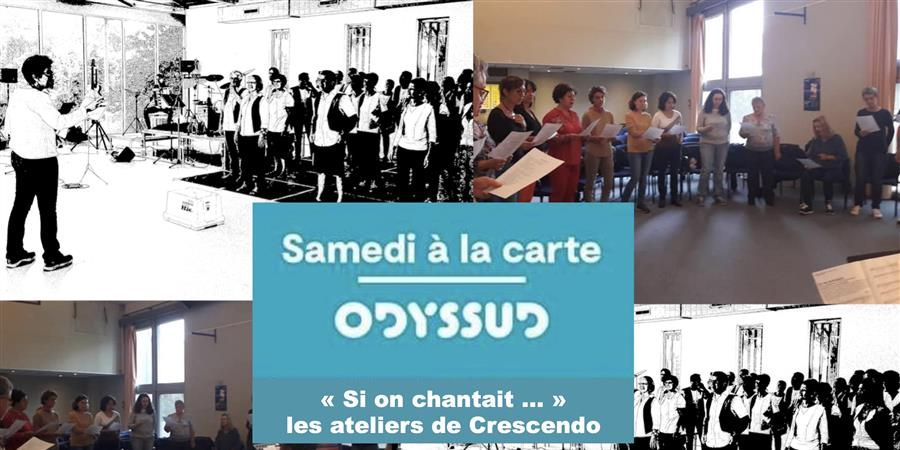 Atelier du samedi 5 octobre 2019 - Ensemble Vocal Crescendo