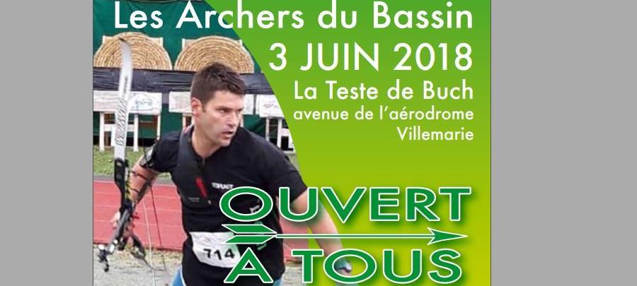 Run Archery Tour 2018 - 1ère étape Arcachon - Les archers du Bassin d'Arcachon