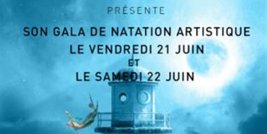 GALA DE NATATION ARTISTIQUE 22 juin - les sirenes d'ornon