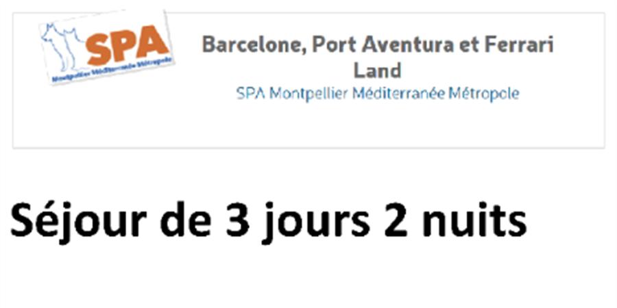Tombola SPA Montpellier Méditerranée Métropole - Société protectrice des animaux Montpellier Méditerranée Métropole