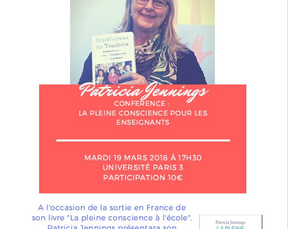 Conférence : La Pleine Conscience pour les enseignants - Lab School