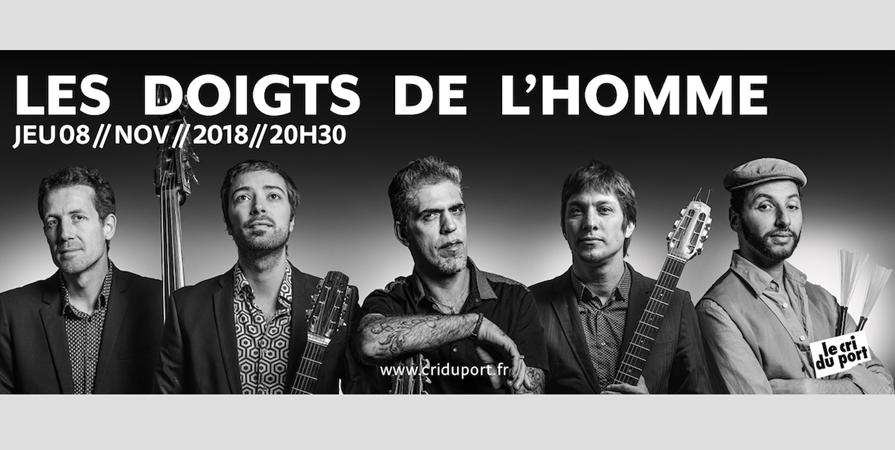 LES DOIGTS DE L'HOMME - Le Cri du Port